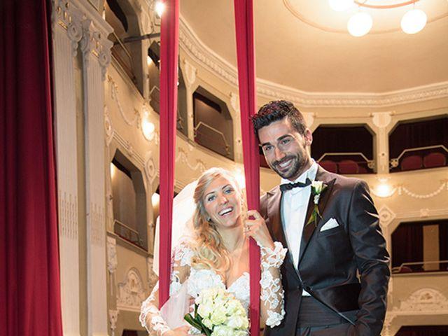 Il matrimonio di Leonardo e Federica a Morrovalle, Macerata 44