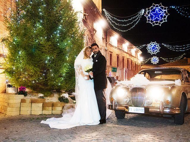 Il matrimonio di Leonardo e Federica a Morrovalle, Macerata 50