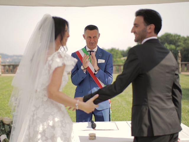 Il matrimonio di Stefania e Gabriele a Almenno San Bartolomeo, Bergamo 28