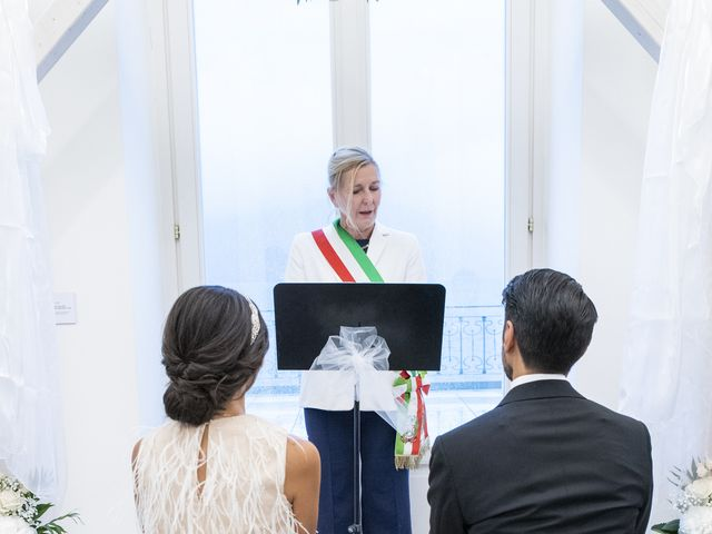 Il matrimonio di Massimilano e Elisabetta a Luino, Varese 9