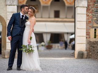 Le nozze di Fabiana e Claudio