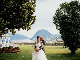 Le nozze di Federica e Stefan