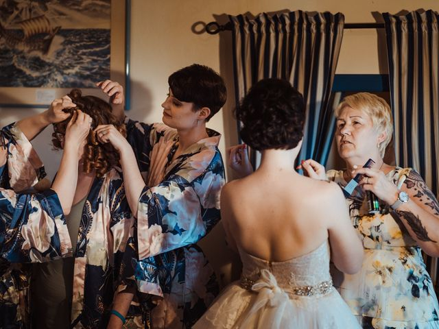 Il matrimonio di David e Vikki a Lucca, Lucca 25