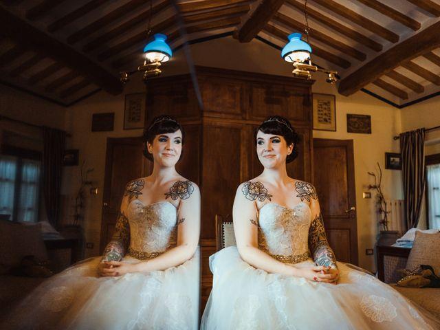 Il matrimonio di David e Vikki a Lucca, Lucca 26