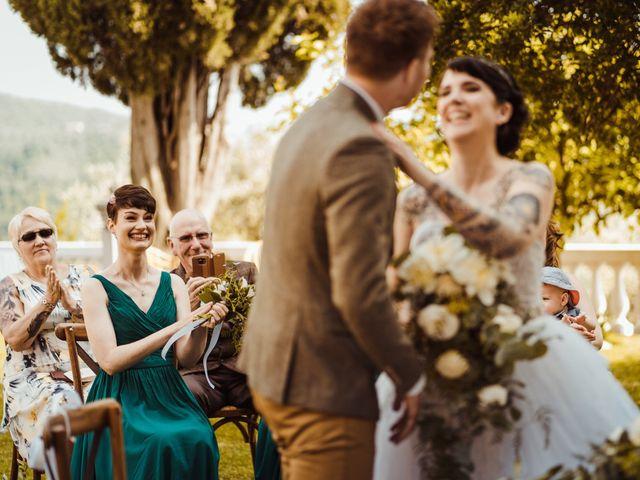 Il matrimonio di David e Vikki a Lucca, Lucca 43