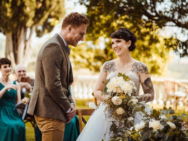 Il matrimonio di David e Vikki a Lucca, Lucca 44