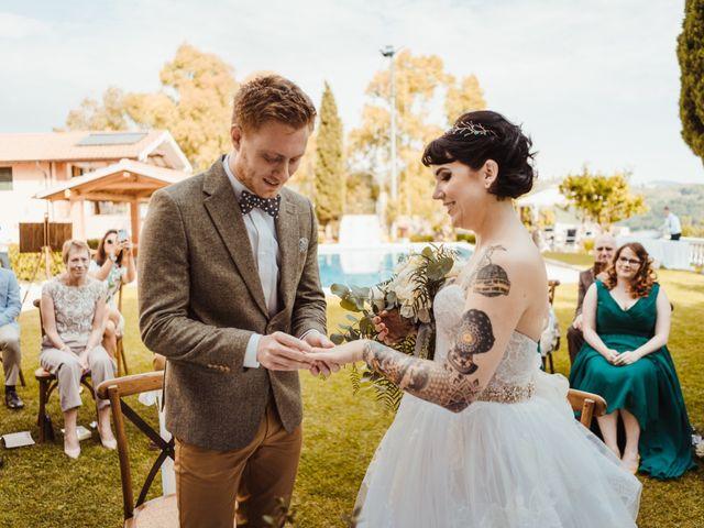 Il matrimonio di David e Vikki a Lucca, Lucca 45