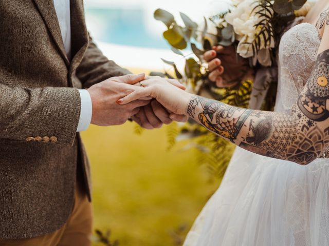 Il matrimonio di David e Vikki a Lucca, Lucca 46