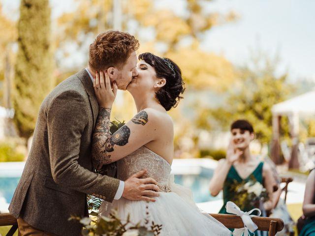 Il matrimonio di David e Vikki a Lucca, Lucca 47
