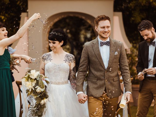 Il matrimonio di David e Vikki a Lucca, Lucca 48