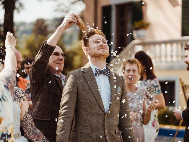 Il matrimonio di David e Vikki a Lucca, Lucca 49
