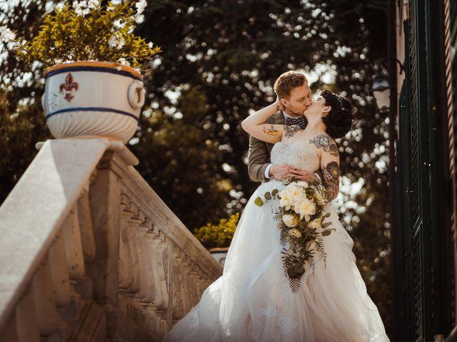 Il matrimonio di David e Vikki a Lucca, Lucca 52