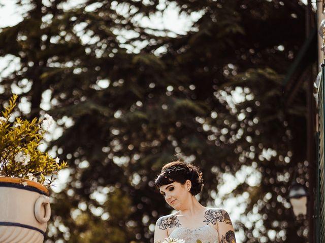 Il matrimonio di David e Vikki a Lucca, Lucca 53