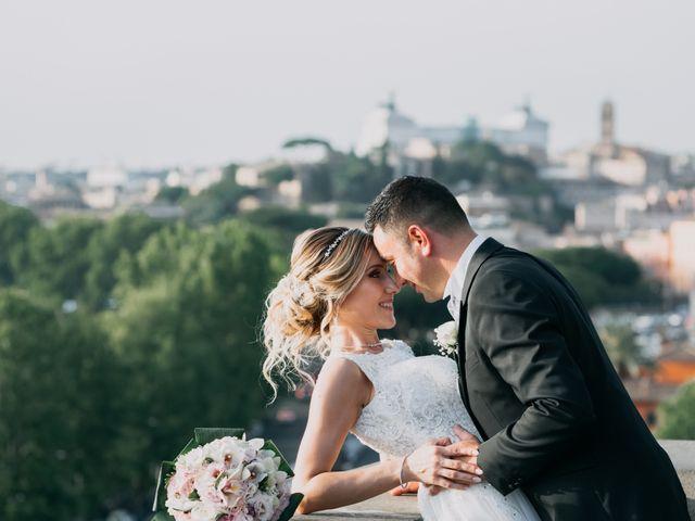 Le nozze di Letizia e Christian