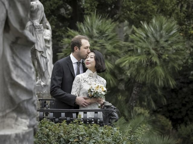 Il matrimonio di Federico e Jia a Genova, Genova 8