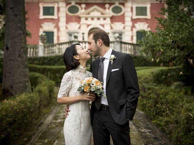 Il matrimonio di Federico e Jia a Genova, Genova 12