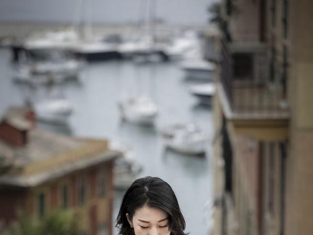 Il matrimonio di Federico e Jia a Genova, Genova 17