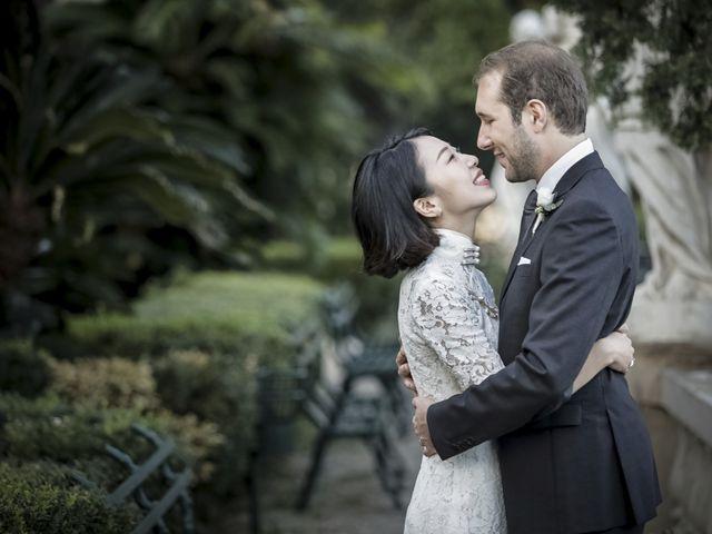 Il matrimonio di Federico e Jia a Genova, Genova 32