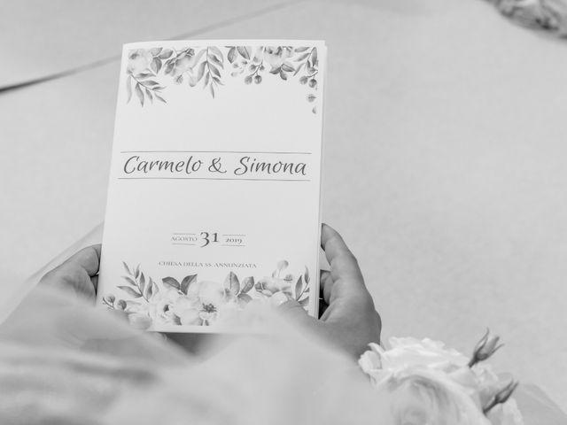 Il matrimonio di Simona e Carmelo a Casperia, Rieti 11