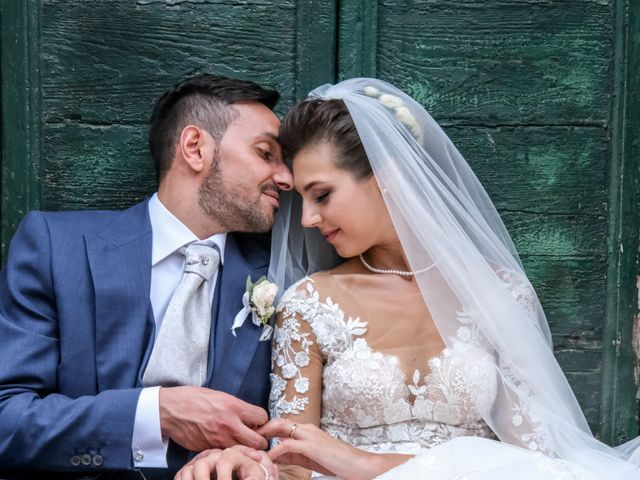 Il matrimonio di Simona e Carmelo a Casperia, Rieti 19
