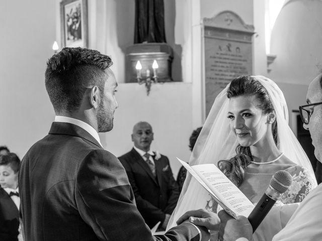 Il matrimonio di Simona e Carmelo a Casperia, Rieti 28