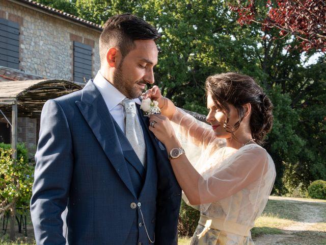 Il matrimonio di Simona e Carmelo a Casperia, Rieti 32