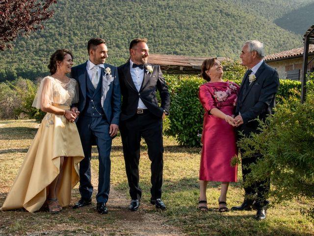 Il matrimonio di Simona e Carmelo a Casperia, Rieti 33