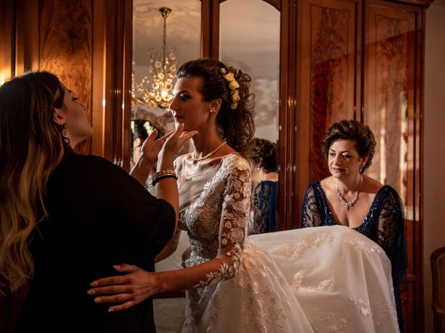 Il matrimonio di Simona e Carmelo a Casperia, Rieti 35
