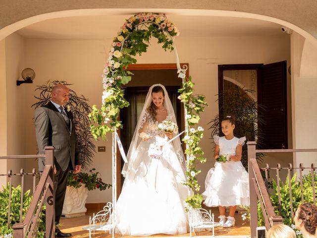 Il matrimonio di Simona e Carmelo a Casperia, Rieti 38