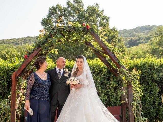 Il matrimonio di Simona e Carmelo a Casperia, Rieti 39