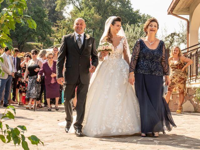 Il matrimonio di Simona e Carmelo a Casperia, Rieti 40