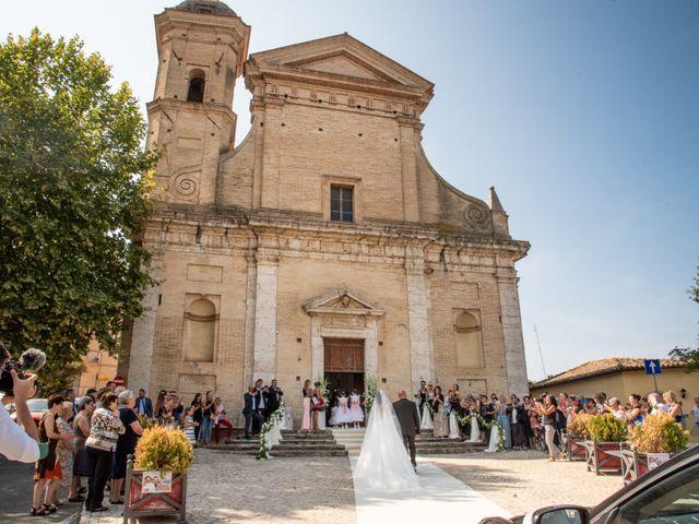 Il matrimonio di Simona e Carmelo a Casperia, Rieti 41
