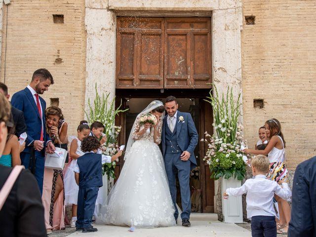 Il matrimonio di Simona e Carmelo a Casperia, Rieti 44