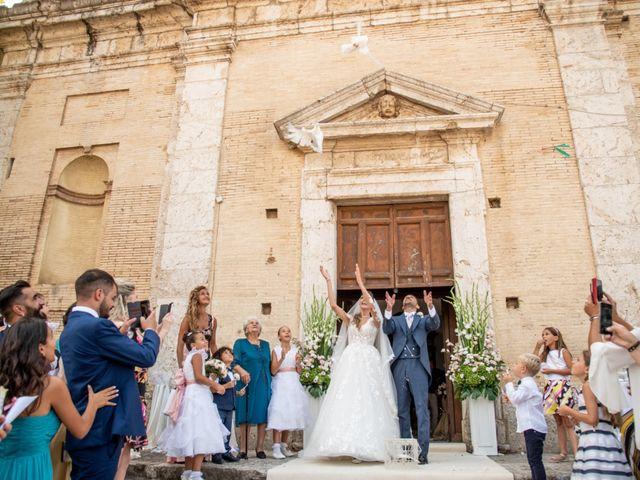 Il matrimonio di Simona e Carmelo a Casperia, Rieti 45