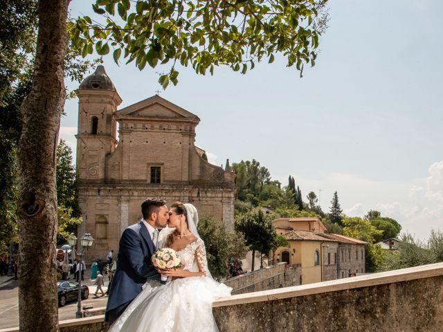 Il matrimonio di Simona e Carmelo a Casperia, Rieti 46