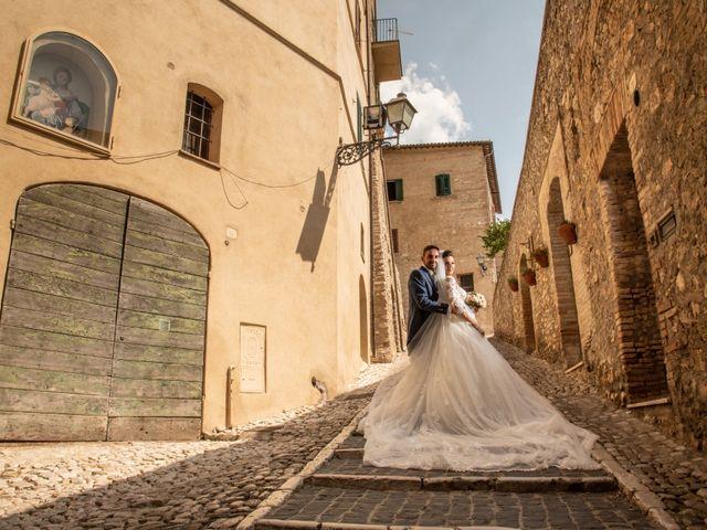 Il matrimonio di Simona e Carmelo a Casperia, Rieti 47