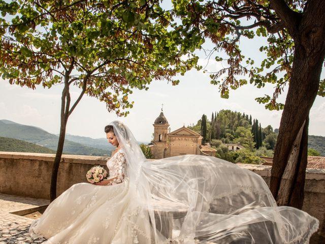 Il matrimonio di Simona e Carmelo a Casperia, Rieti 48