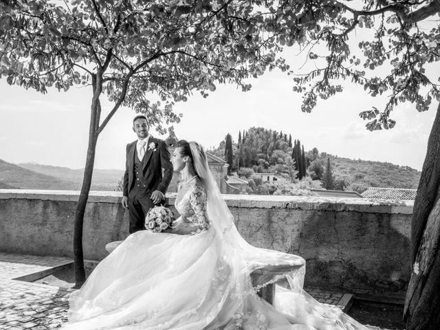 Il matrimonio di Simona e Carmelo a Casperia, Rieti 50