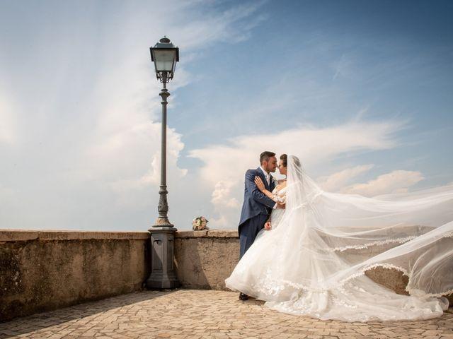 Il matrimonio di Simona e Carmelo a Casperia, Rieti 51