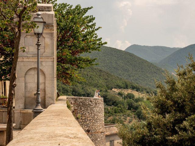Il matrimonio di Simona e Carmelo a Casperia, Rieti 52