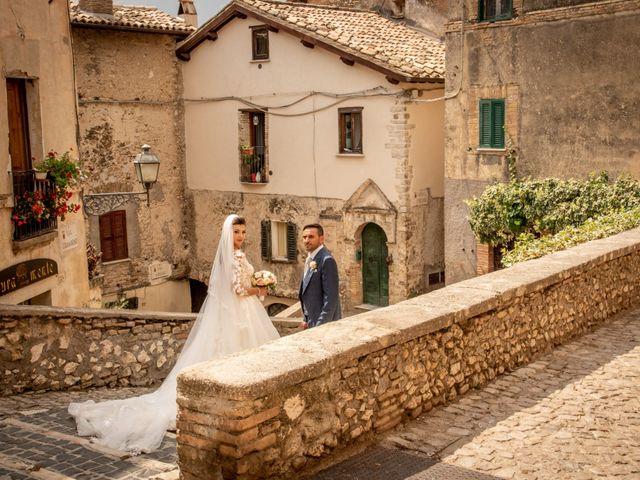 Il matrimonio di Simona e Carmelo a Casperia, Rieti 56