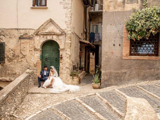 Il matrimonio di Simona e Carmelo a Casperia, Rieti 57