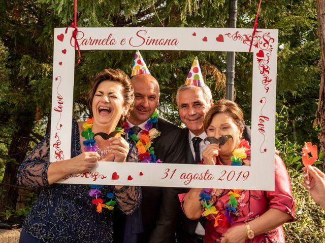Il matrimonio di Simona e Carmelo a Casperia, Rieti 59