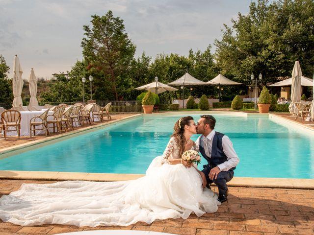 Il matrimonio di Simona e Carmelo a Casperia, Rieti 60