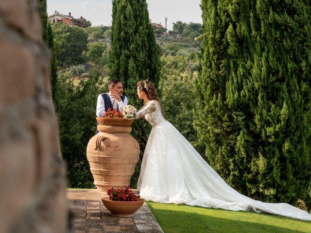 Il matrimonio di Simona e Carmelo a Casperia, Rieti 64