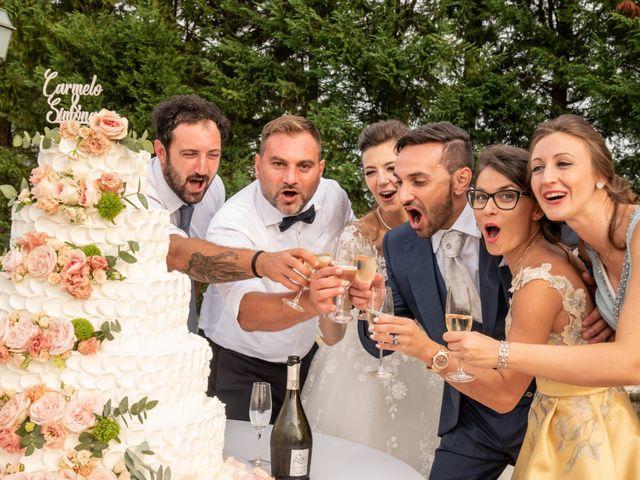 Il matrimonio di Simona e Carmelo a Casperia, Rieti 73