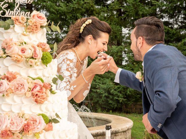 Il matrimonio di Simona e Carmelo a Casperia, Rieti 74