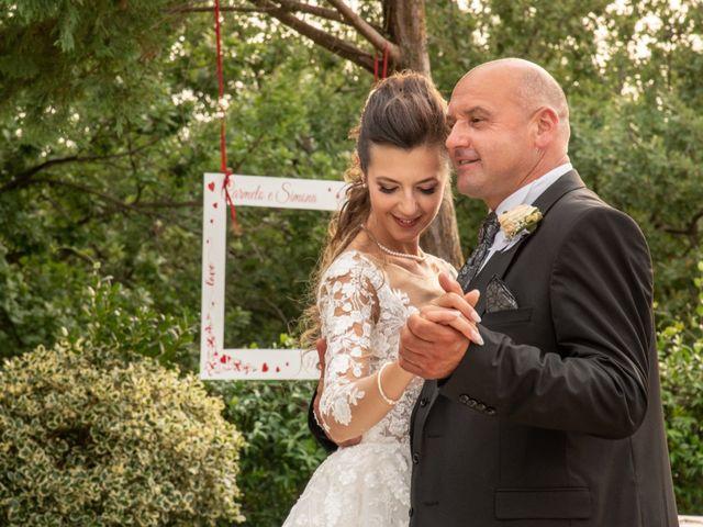 Il matrimonio di Simona e Carmelo a Casperia, Rieti 75