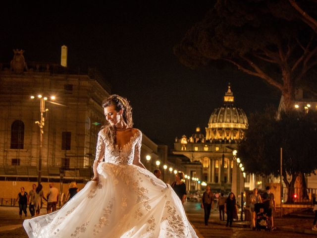 Il matrimonio di Simona e Carmelo a Casperia, Rieti 81