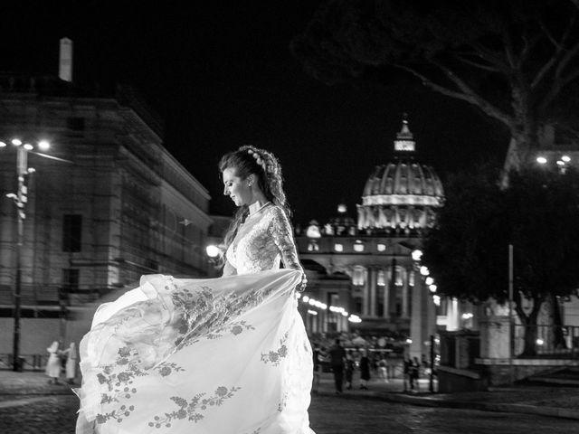 Il matrimonio di Simona e Carmelo a Casperia, Rieti 83